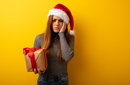 Girl Disappointed Of Her Gift