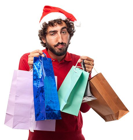 Man Searching For Perfect Gift