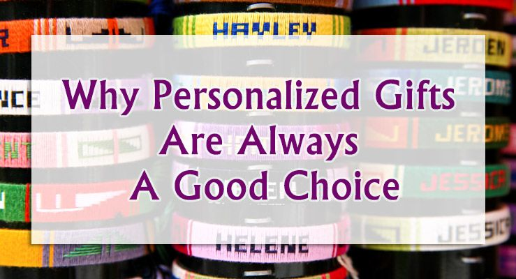 Why Personalized Gifts Are Always A Great Choice